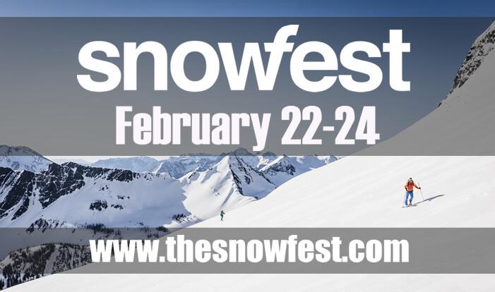SNOWFEST - Feb 22 2019 4:00 PM