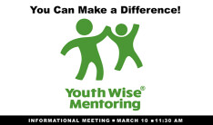 YouthWise Mentoring - Mar 10 2019 11:30 AM