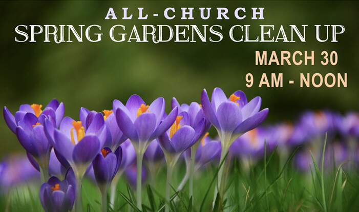 Spring Gardens Clean Up - Mar 30 2019 9:00 AM