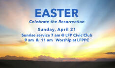 Easter Worship - Apr 21 2019 7:00 AM