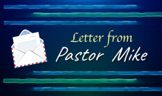 Letter from Pastor Mike