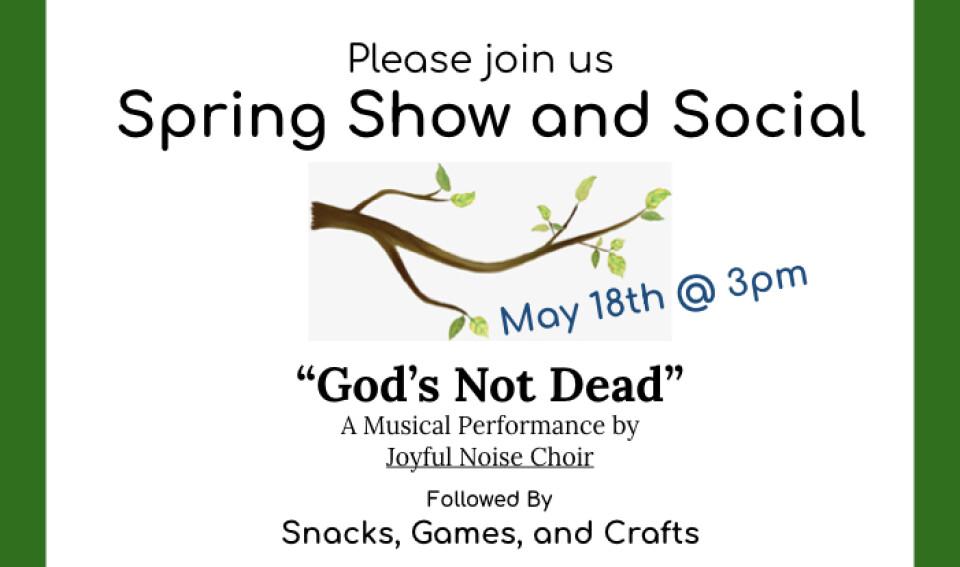 Spring Show & Social