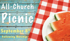 All-Church Picnic - Sep 8 2019 11:15 AM