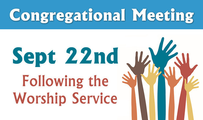 Annual Congregational Meeting - Sep 22 2019 11:25 AM