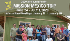 Mission Mexico Info Meeting - Jan 12 2020 11:30 AM