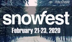 SNOWFEST - Feb 21 2020 4:00 PM