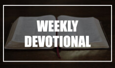 Weekly Devotional 05-20-2020