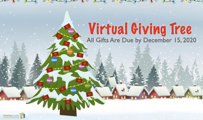 Virtual Giving Tree - Dec 15 2020