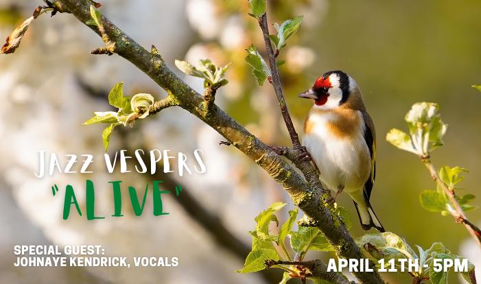Jazz Vespers - Alive - Apr 11 2021 5:00 PM